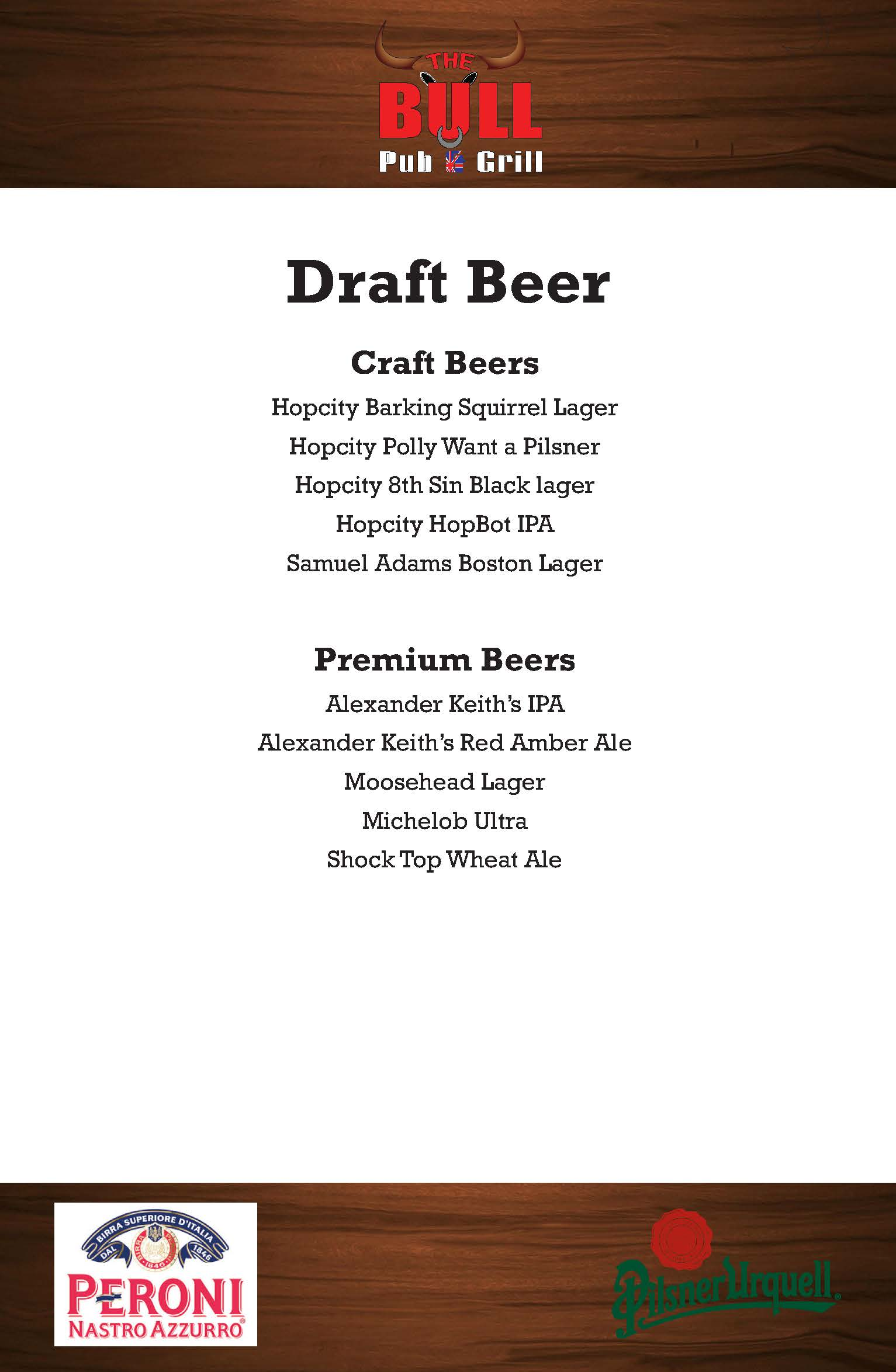 Bull Beer List August 2017_Page_1